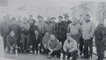 Eiststockschiessen in der Geschichte des MGV Afritz am See